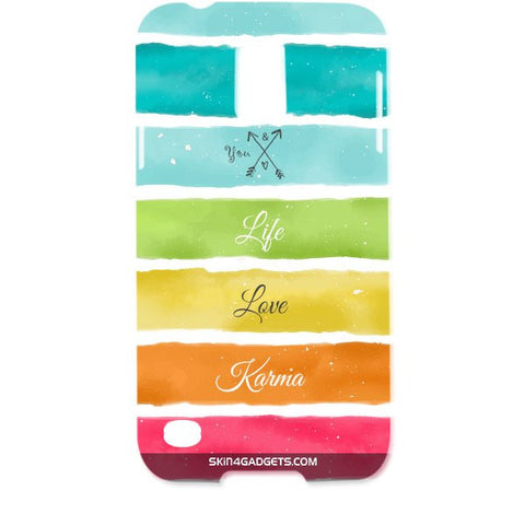 Lets Love Life For SAMSUNG GALAXY S5 Designer CASE