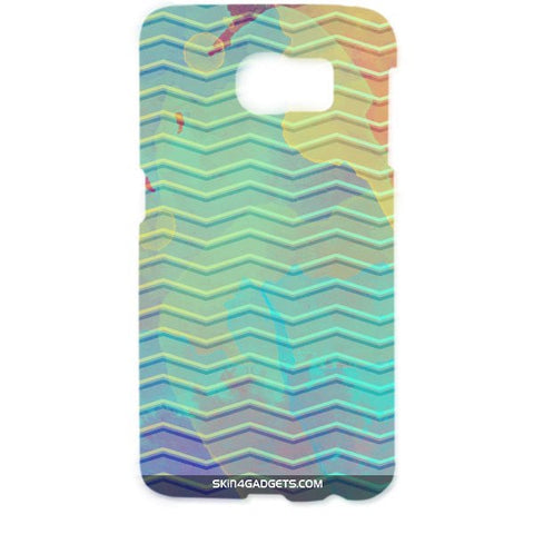 Colourful Waves For SAMSUNG GALAXY S6 EDGE (G9250) Designer CASE