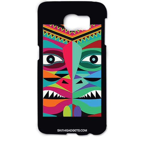 Tribal Face For SAMSUNG GALAXY S6 EDGE (G9250) Designer CASE