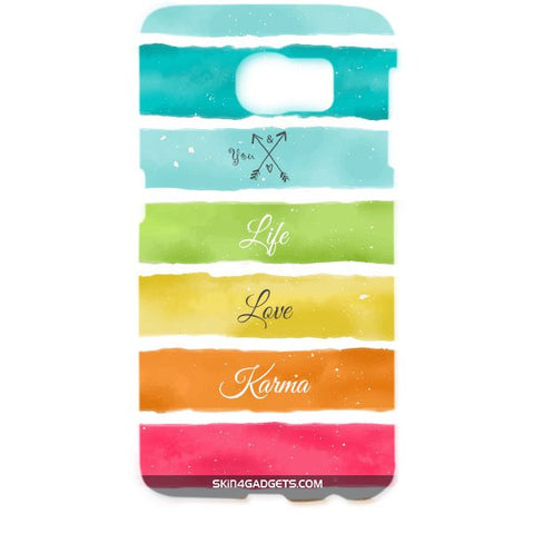 Lets Love Life For SAMSUNG GALAXY S6 EDGE (G9250) Designer CASE