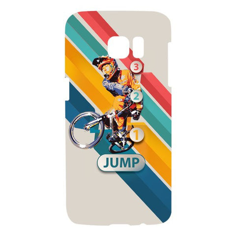 1 2 3 Jump For SAMSUNG GALAXY S7 EDGE Designer CASE