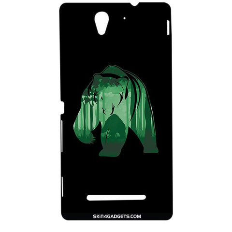 Bear For SONY XPERIA C3 DUAL  (s55t) Designer CASE