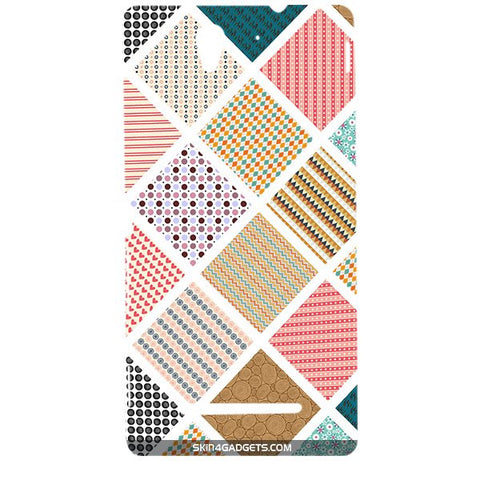 Varied Pattern For SONY XPERIA C3 DUAL  (s55t) Designer CASE