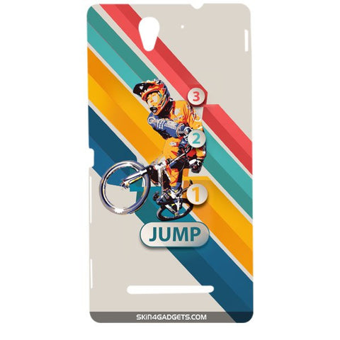 1 2 3 Jump For SONY XPERIA C3 DUAL  (s55t) Designer CASE