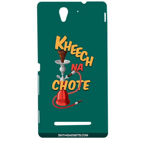 Kheech na Chote For SONY XPERIA C3 DUAL  (s55t) Designer CASE