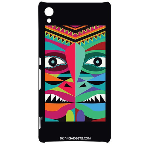 Tribal Face For SONY XPERIA Z4 Designer CASE