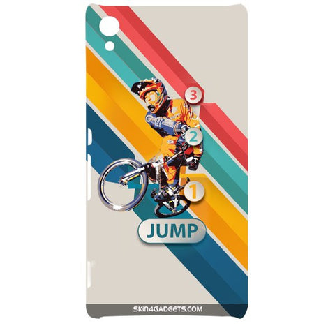 1 2 3 Jump For SONY XPERIA Z4 Designer CASE