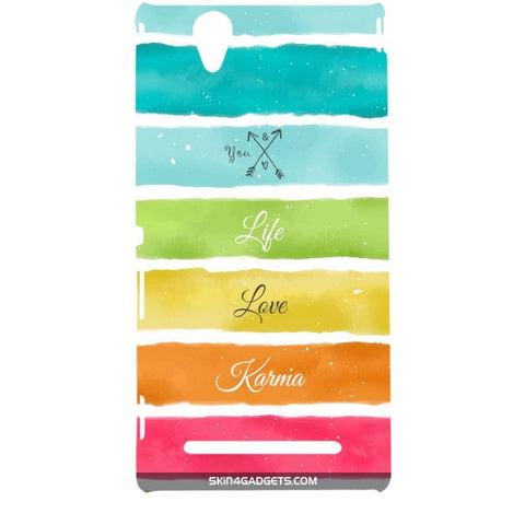 Lets Love Life For SONY XPERIA T2 ULTRA Designer CASE