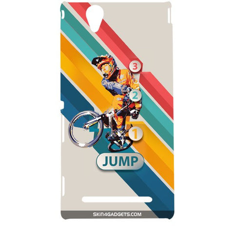 1 2 3 Jump For SONY XPERIA T2 ULTRA Designer CASE
