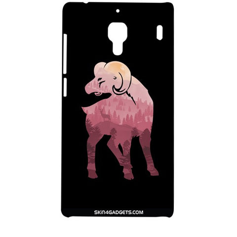 Mountain Goat For XIAOMI REDMI 1 Designer CASE