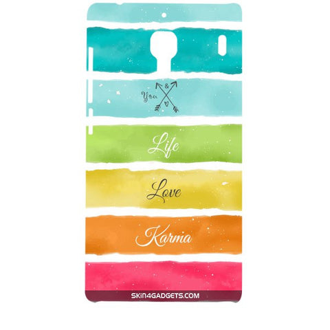 Lets Love Life For XIAOMI REDMI 1 Designer CASE