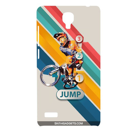 1 2 3 Jump For XIAOMI REDMI NOTE Designer CASE