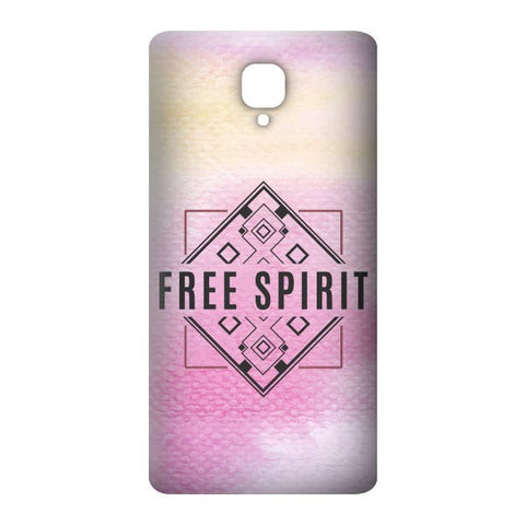 Freespirit For OnePlus 3 Designer CASE