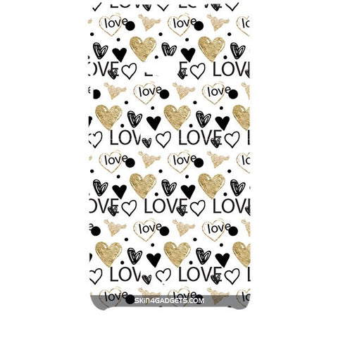 Heart and Love Doodle For MICROSOFT LUMIA 535 Designer CASE