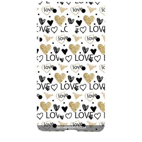 Heart and Love Doodle For MICROSOFT LUMIA 540 Designer CASE