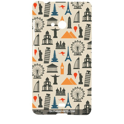Wonders of the World For MICROSOFT LUMIA 540 Designer CASE