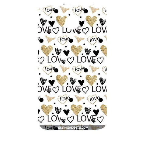 Heart and Love Doodle For MOTOROLA NEXUS 6 Designer CASE