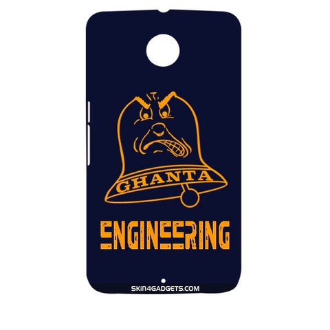 Ghanta Engineering  For MOTOROLA NEXUS 6 Designer CASE