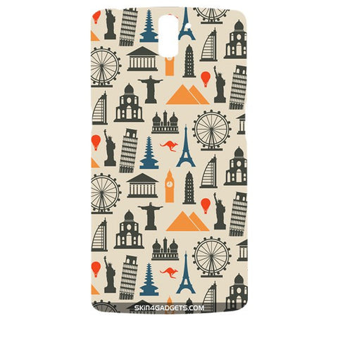 Wonders of the World For ONE PLUS ONE Designer CASE