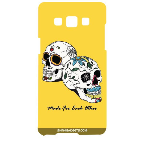 Made for each other (Skulls & Roses) For SAMSUNG GALAXY A5 (A5000) Designer CASE