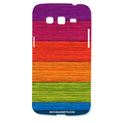 Multicolor Wooden Planks For SAMSUNG GALAXY GRAND 2 ( G7106) Designer CASE