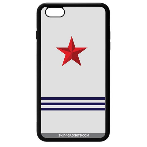 Star Strips For APPLE IPHONE 6 BLACK PRO CASE
