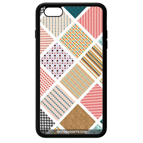 Varied Pattern For APPLE IPHONE 6 BLACK PRO CASE