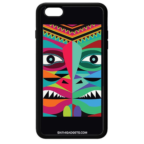 Tribal Face For APPLE IPHONE 6S PLUS BLACK PRO CASE