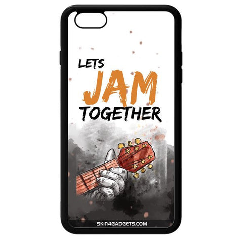 Lets Jam Together For APPLE IPHONE 6S PLUS BLACK PRO CASE