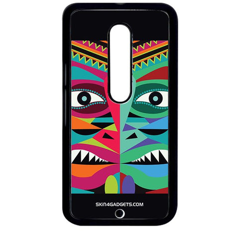 Tribal Face For MOTO X STYLE BLACK PRO CASE