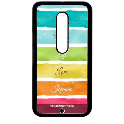 Lets Love Life For MOTO X STYLE BLACK PRO CASE