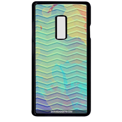 Colourful Waves For ONE PLUS TWO BLACK PRO CASE