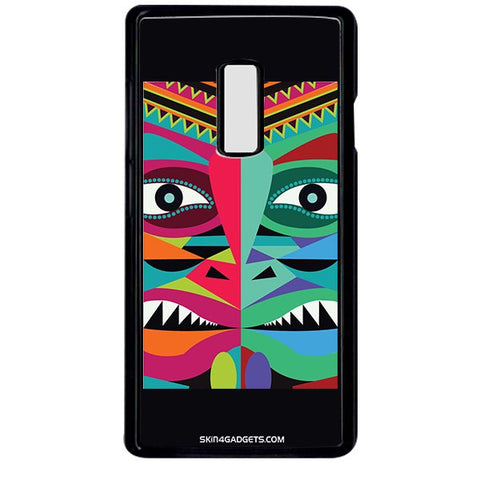 Tribal Face For ONE PLUS TWO BLACK PRO CASE