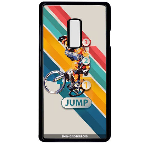1 2 3 Jump For ONE PLUS TWO BLACK PRO CASE