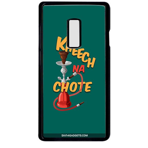 Kheech na Chote For ONE PLUS TWO BLACK PRO CASE