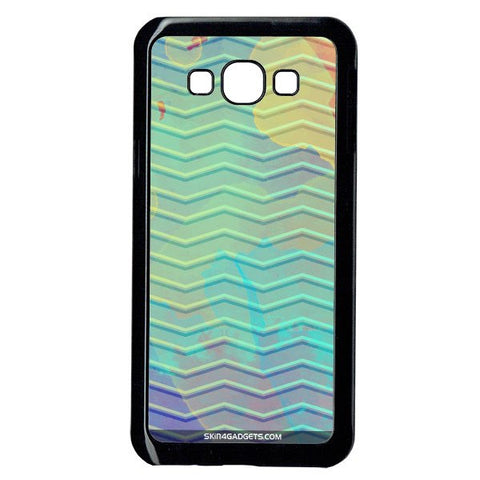 Colourful Waves For Samsung A8 BLACK PRO CASE