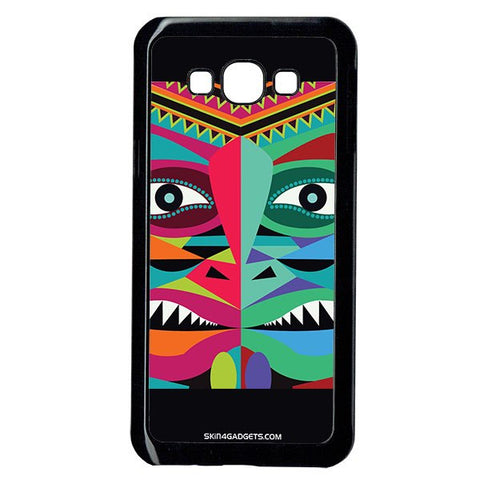 Tribal Face For Samsung A8 BLACK PRO CASE