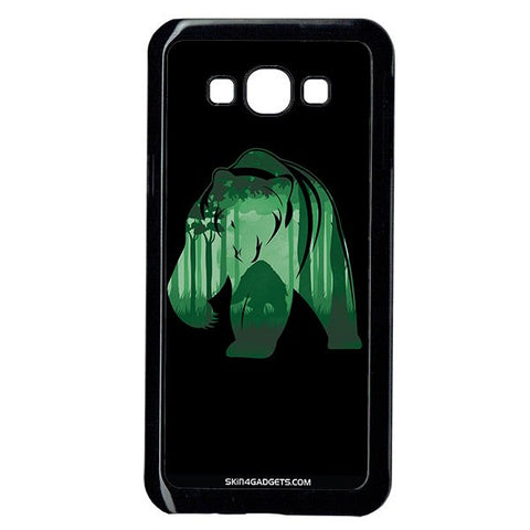 Bear For Samsung A8 BLACK PRO CASE