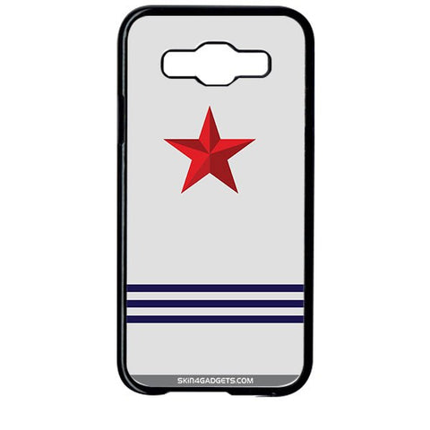 Star Strips For SAMSUNG GALAXY E5 BLACK PRO CASE