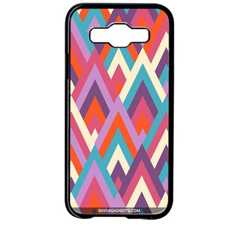 Peaks For SAMSUNG GALAXY E5 BLACK PRO CASE