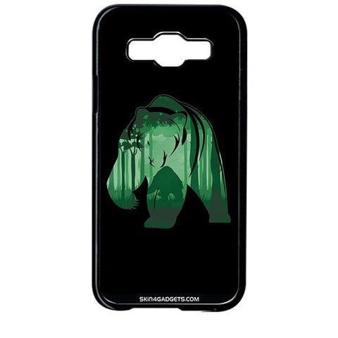 Bear For SAMSUNG GALAXY E5 BLACK PRO CASE