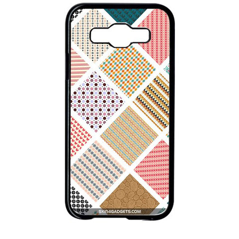 Varied Pattern For SAMSUNG GALAXY E5 BLACK PRO CASE