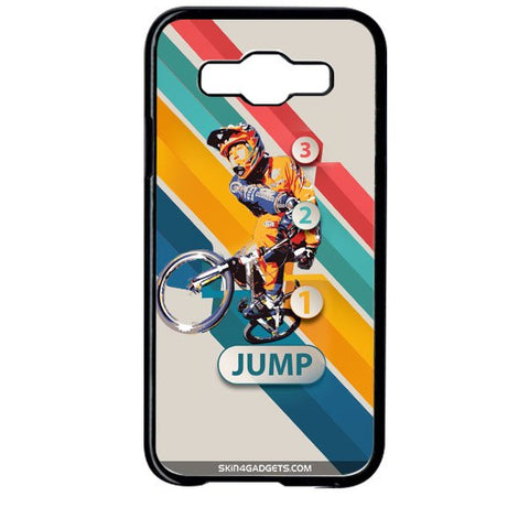 1 2 3 Jump For SAMSUNG GALAXY E5 BLACK PRO CASE