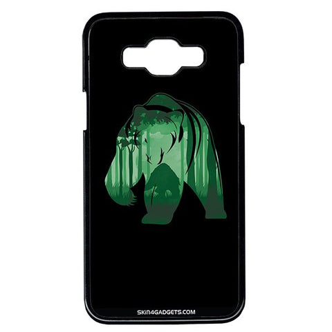 Bear For Samsung Galaxy Grand Max BLACK PRO CASE