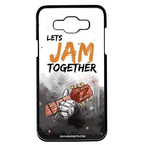 Lets Jam Together For Samsung Galaxy Grand Max BLACK PRO CASE
