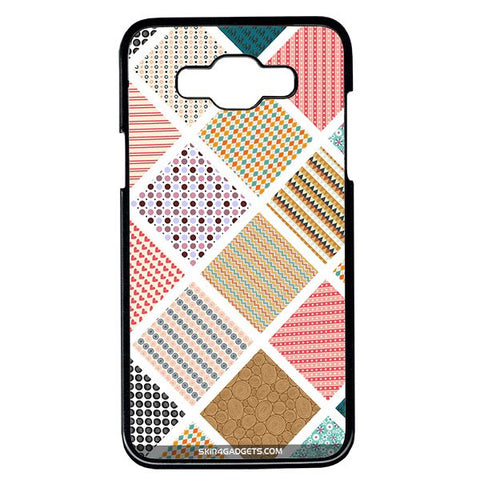 Varied Pattern For Samsung Galaxy Grand Max BLACK PRO CASE