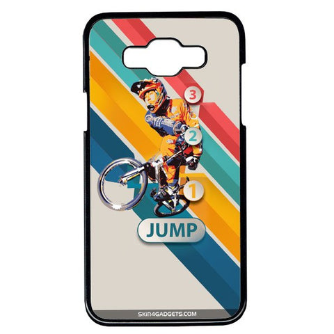 1 2 3 Jump For Samsung Galaxy Grand Max BLACK PRO CASE