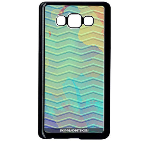 Colourful Waves For SAMSUNG GALAXY ON7 BLACK PRO CASE