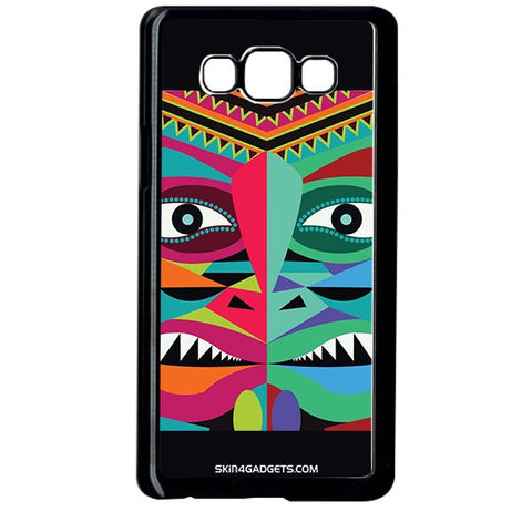 Tribal Face For SAMSUNG GALAXY ON7 BLACK PRO CASE