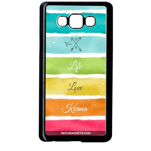 Lets Love Life For SAMSUNG GALAXY ON7 BLACK PRO CASE